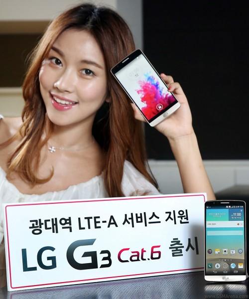 LG G3 LTE-A Phone