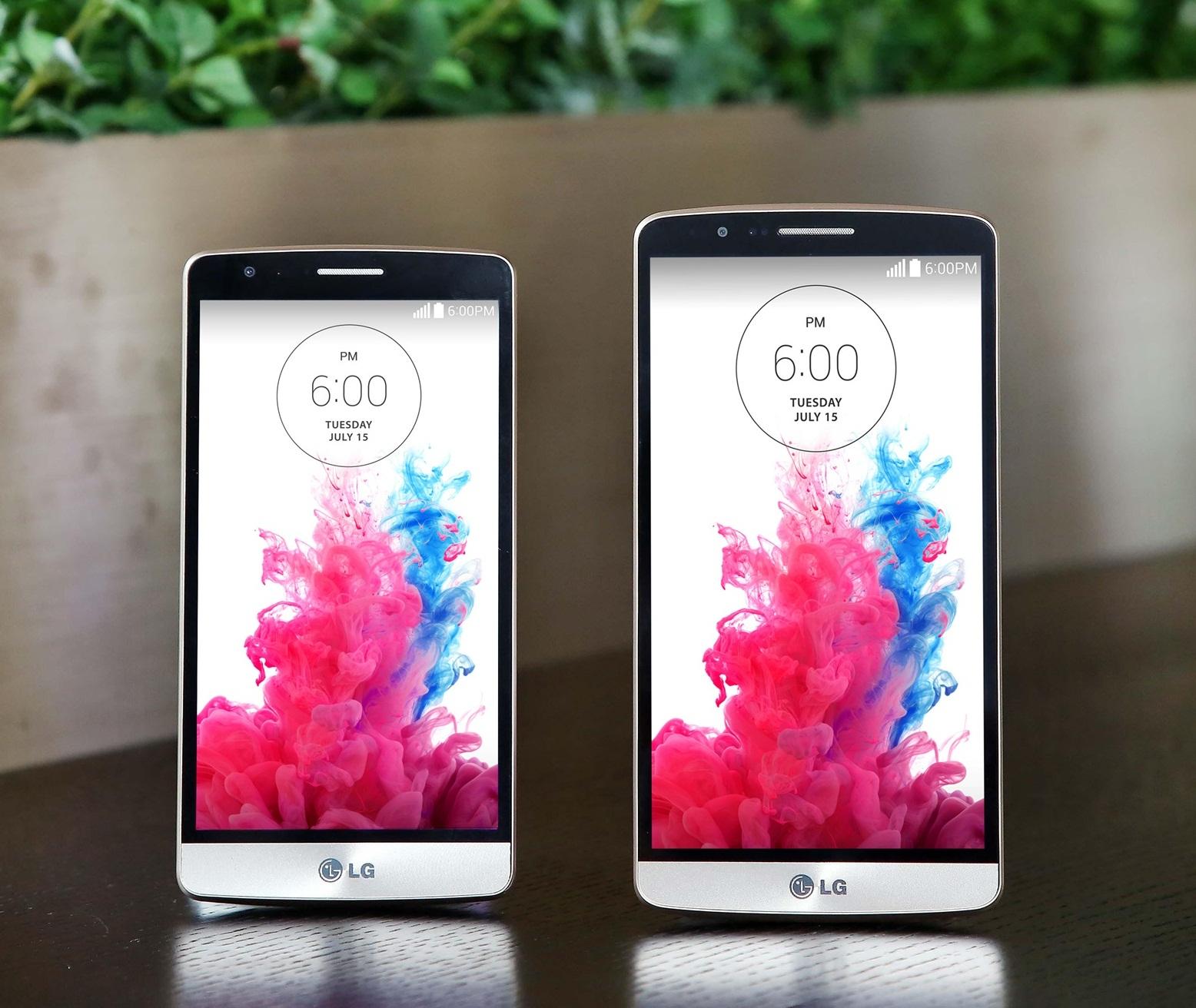 LG G3 vs G3 Beat