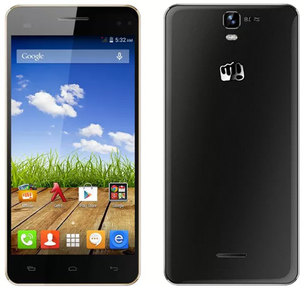 Micromax Canvas HD A190