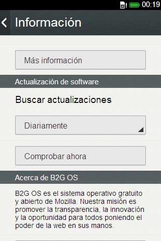 Software Update on Firefox Phones