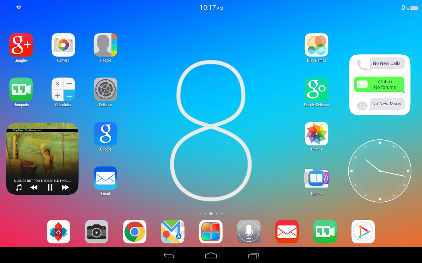 Ultimate iOS 8 Launcher