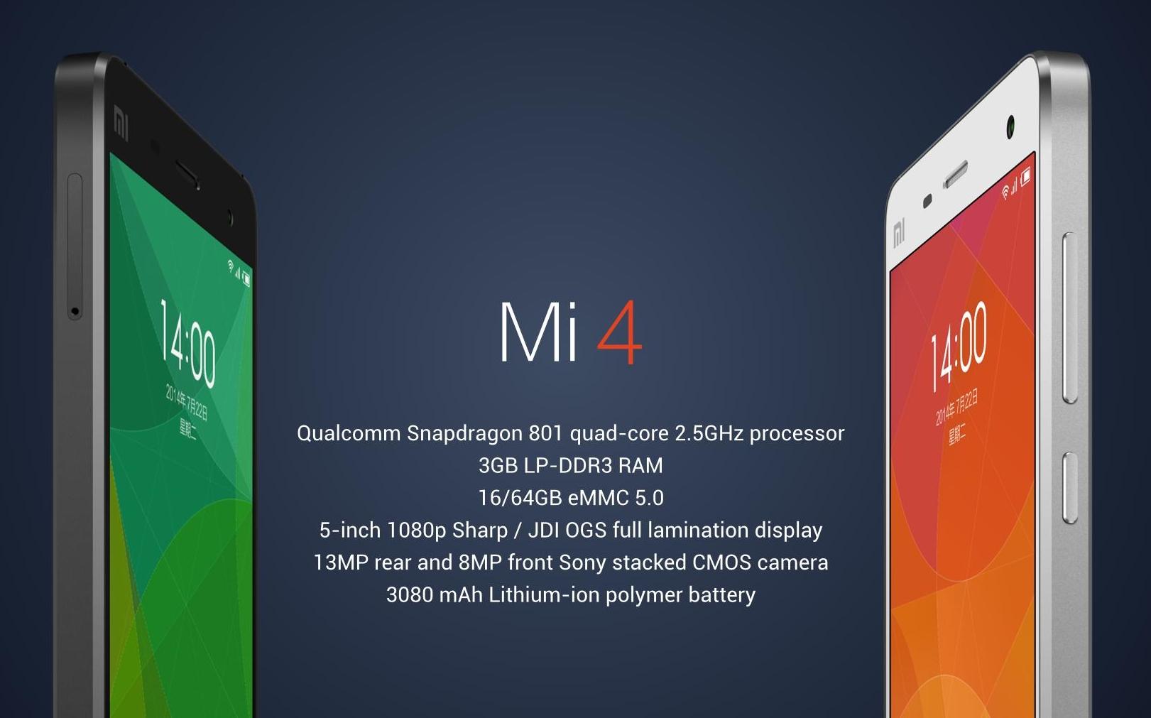 Xiaomi Mi4 Phone