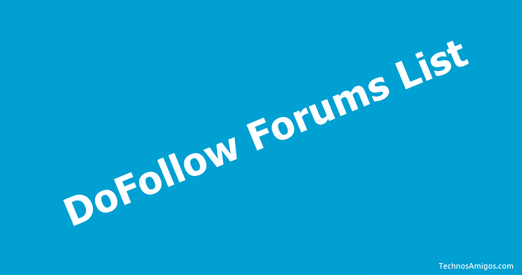 Do Follow Forum List