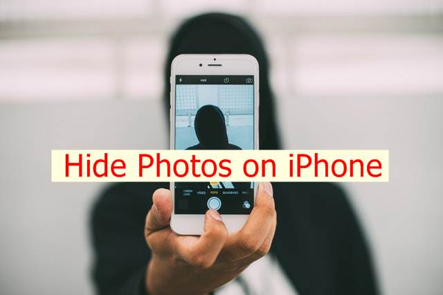 Hide Photos on Apple iPhone