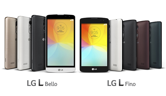 LG L Bella and Fino