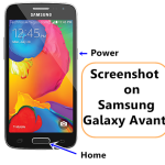 How to Take Screenshot on Samsung Galaxy Avant Phone [T-Mobile]