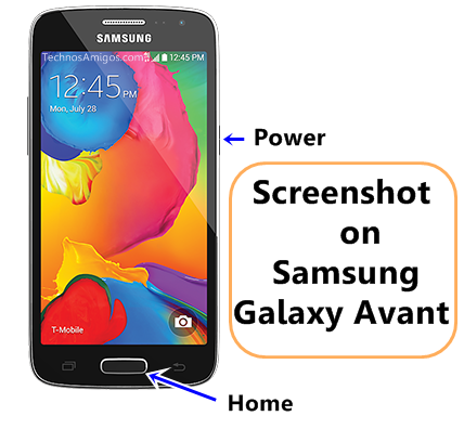 Samsung Galaxy Avant Screenshot