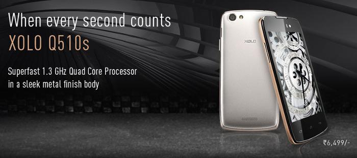Xolo Q510S - Xolo Kitkat Phone