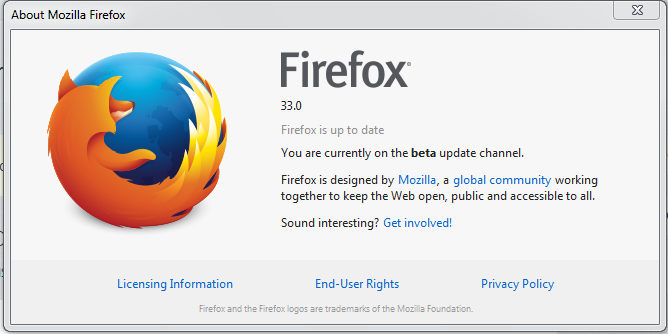 Firefox Current Version
