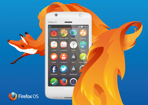 Firefox Phone Software Update