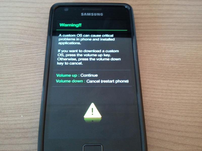 Galaxy Note 4 Download Mode