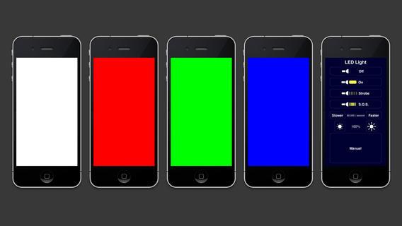 LED flashlight iphone app