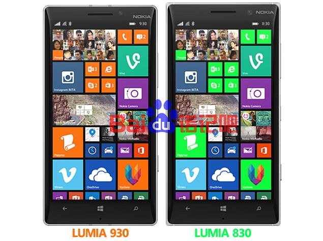 Lumia 830 Phone leak