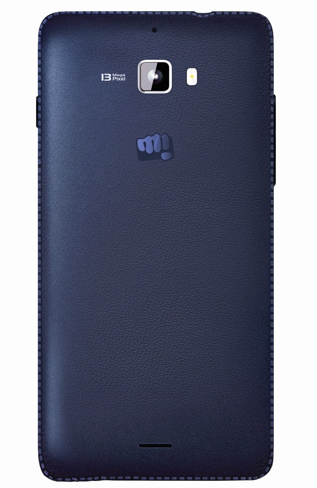 Micromax Canvas Nitro Blue