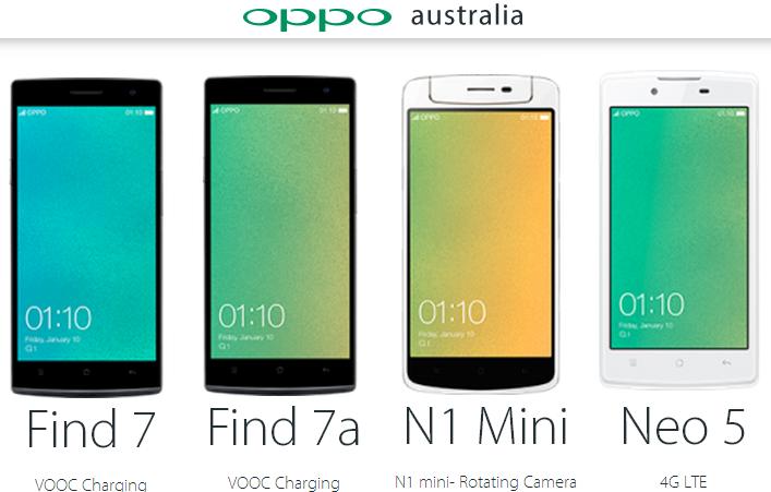 Oppo Australia - Oppo Find 7a