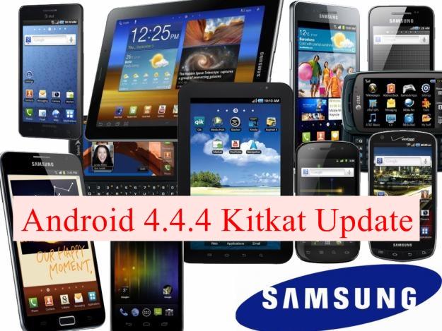 Samsung Galaxy Android 4.4.4 Kitkat