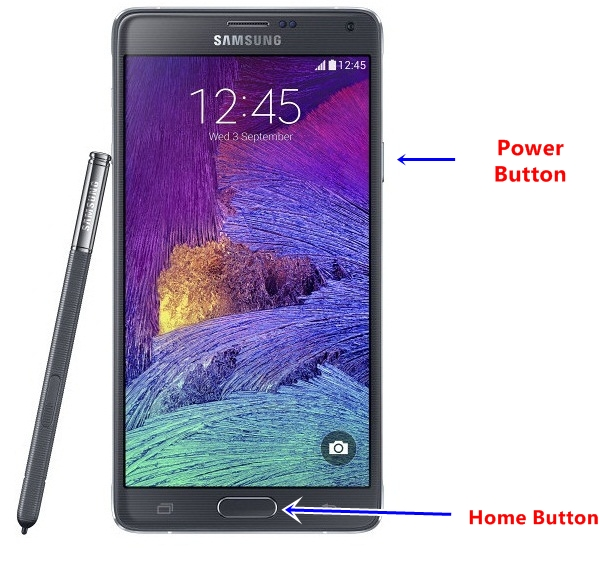 Samsung Galaxy Note 4 Screenshot