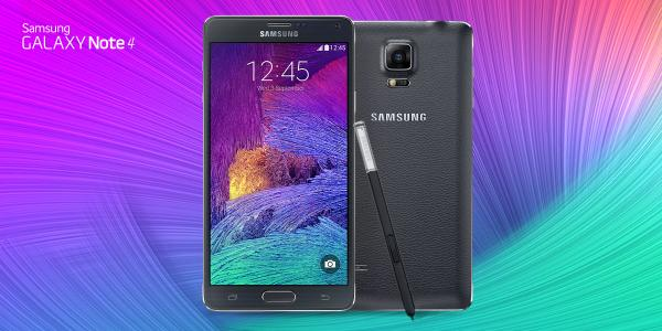 Telus galaxy Note 4