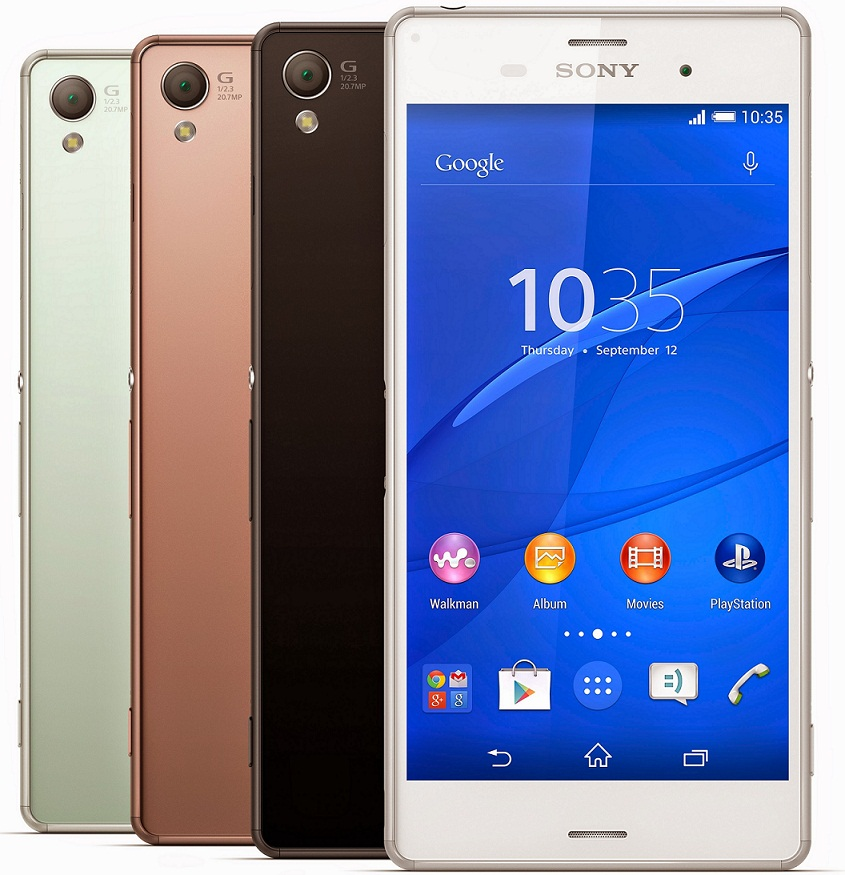 Verizon Sony Xperia Z3v