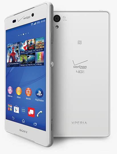 Verizon Xperia Z3v
