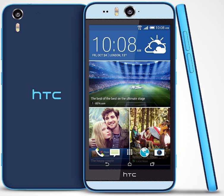 HTC Desire Eye Marshmallow Update [Stock Version] with Root