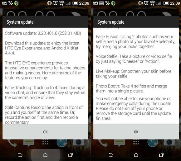 HTC One M8 Eye Experience