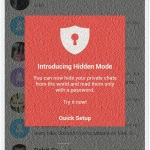 How to Chat in Hike Hidden Mode with Password