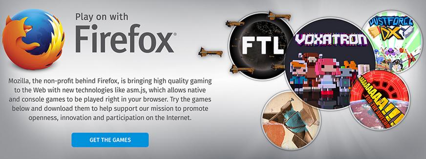 Humble Bundle Mozilla Game