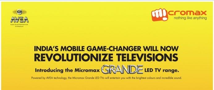 Micromax Grande LED TV