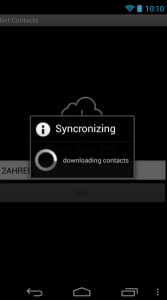 PhoneSwappr Sync contacts