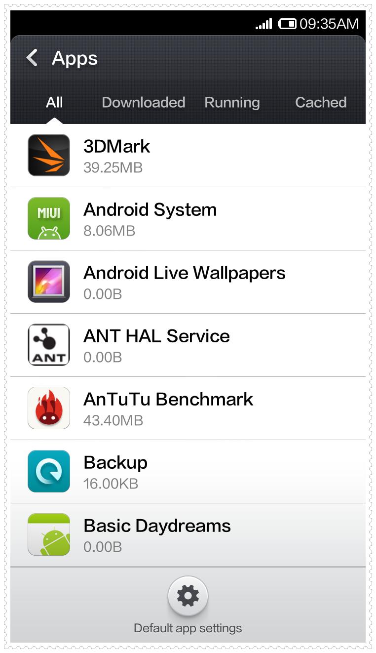 Xiaomi Default Browser
