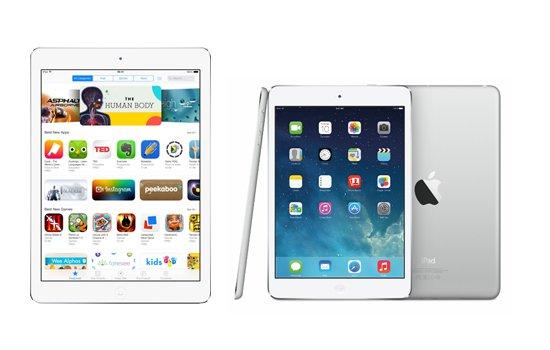 Apple iPad Air 2 and iPad Mini 3