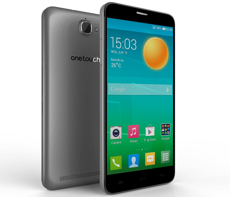 Alcatel One Touch Flash White