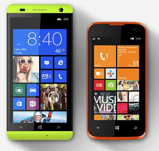 Blu Windows Phones