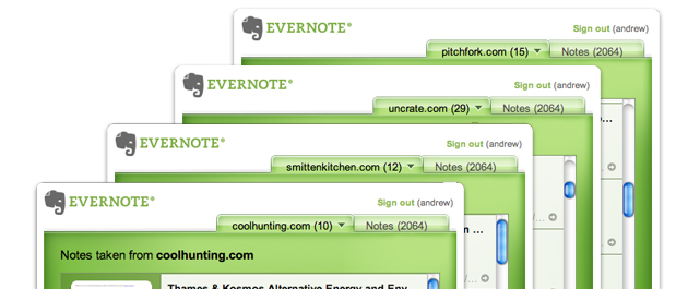 Chrome to Evernote