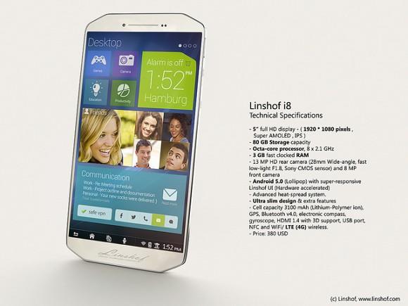 Linshof i8 Phone