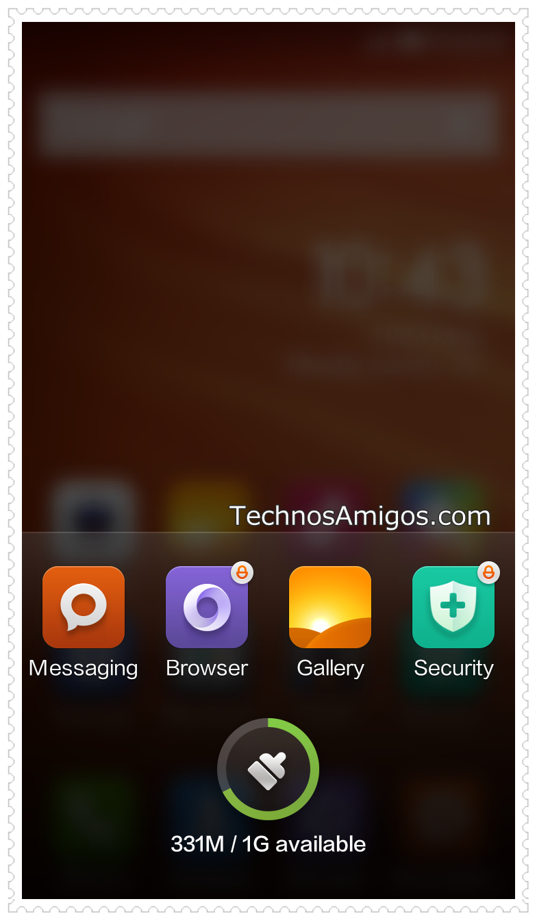 Redmi 1S Background App