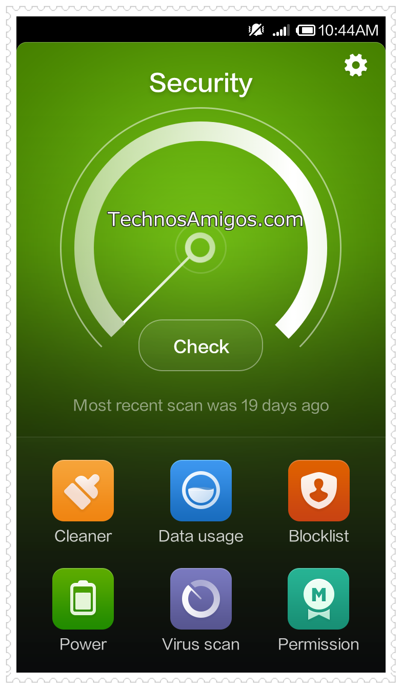 Redmi 1S Security Scan
