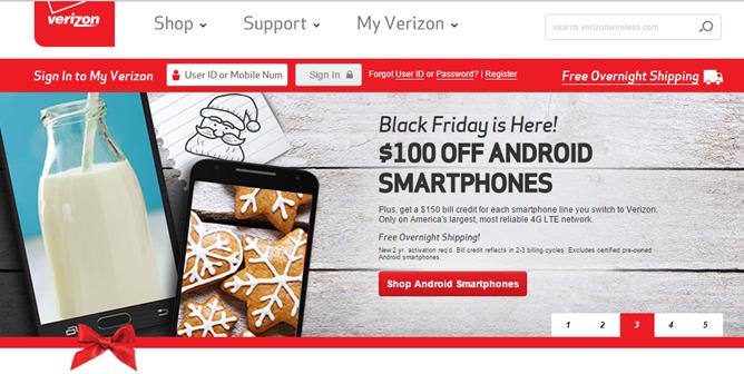 Verizon Black Friday Deals