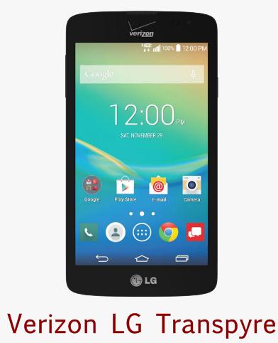 Verizon LG Transpyre