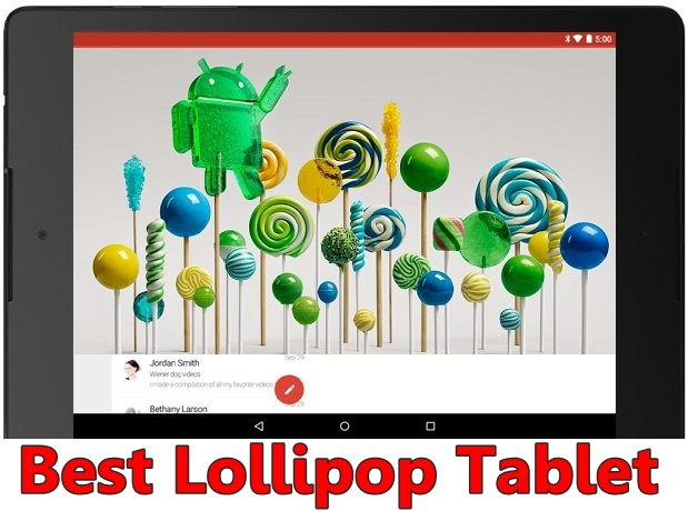 Best Android Lollipop tablet