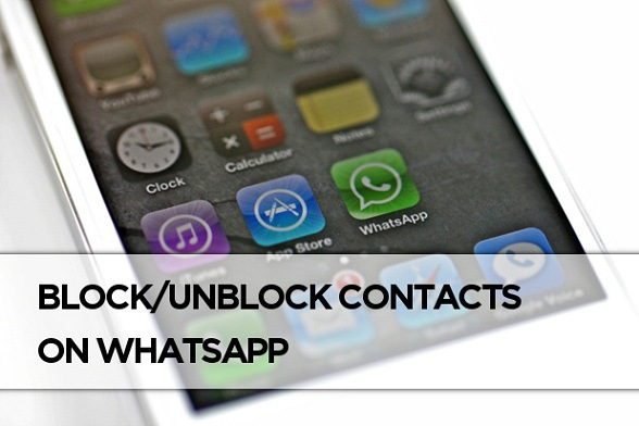 Block WhatsApp Contacts on iPhone