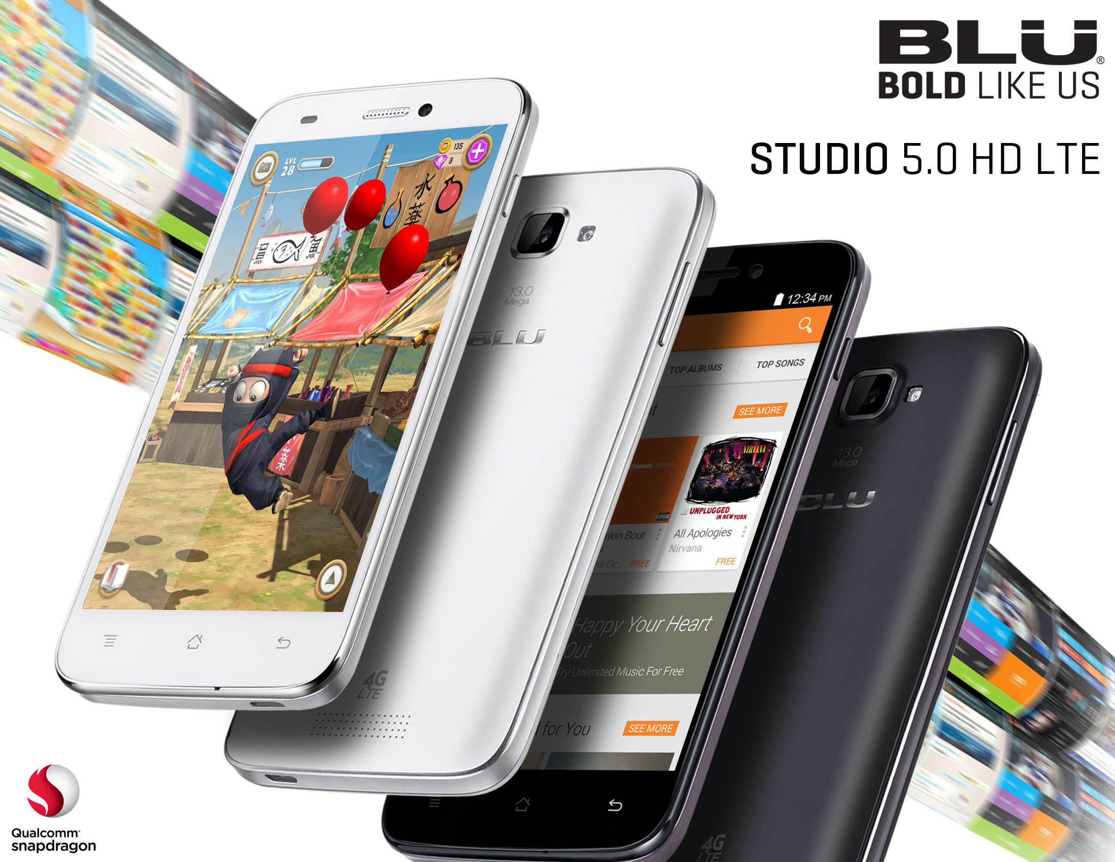 BLU Products STUDIO 5.0 HD LTE