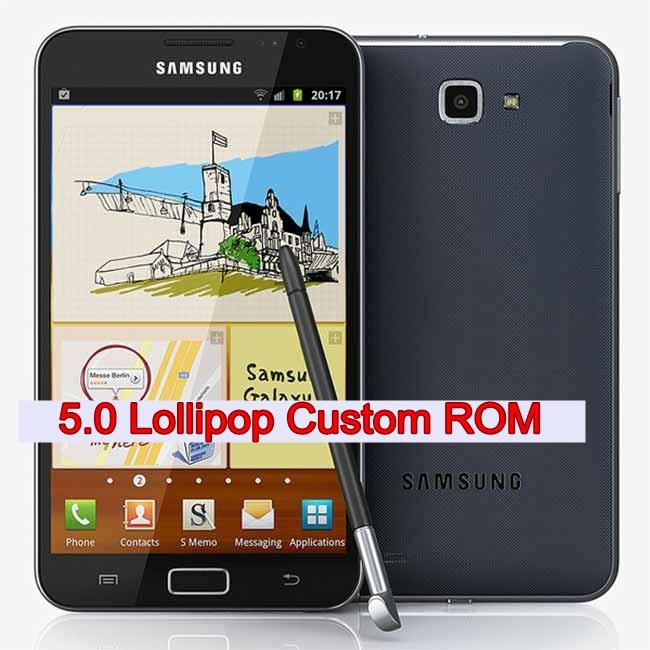 Samsung Galaxy Note N7000 Lollipop Update