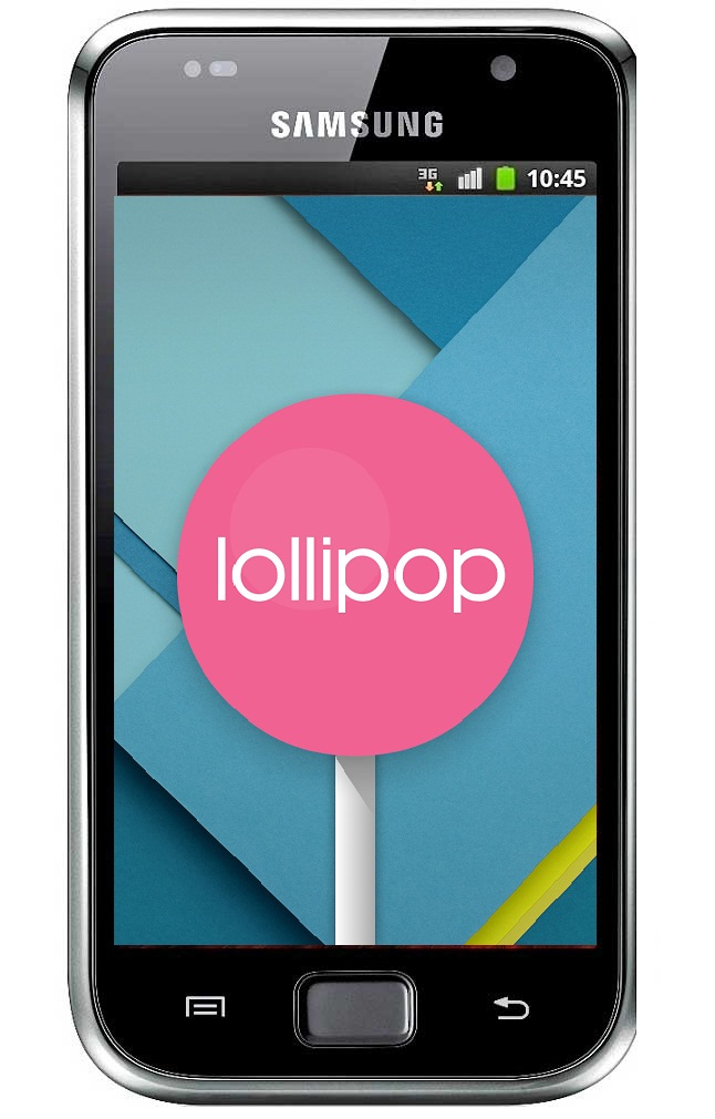 Samsung Galaxy S Plus Lollipop Update