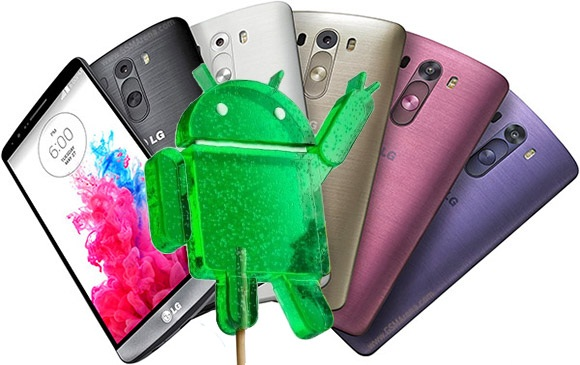 LG G3 Lollipop Update