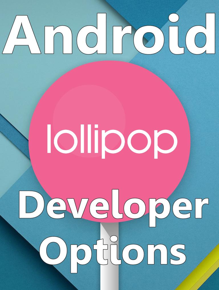 Android 5.0 Lollipop Developer options
