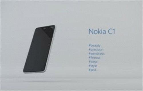 Nokia C1 - Microsoft C1