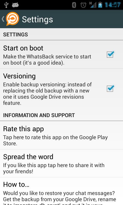 WhatsBack Pro App