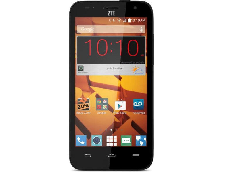 Boost Mobile ZTE Speed